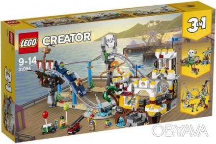 Lego 60194- грузовик Ледяной разведки.  Lego 70618 корабль мастера Ву - 4350 гр. Херсон, Херсонская область. фото 1