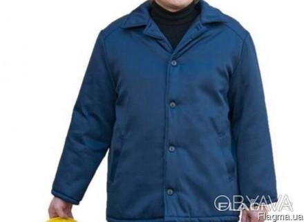 Куртка ватная, рабочая, фуфайка, теплая, опт, спецодежда
