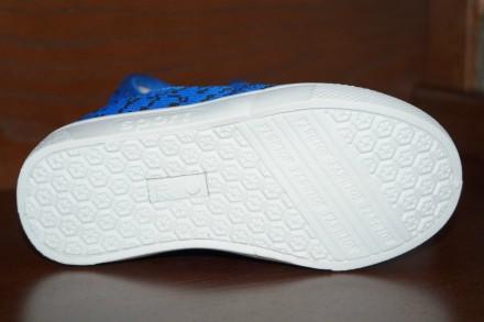 Очаровательные синие слипоны. Легкие, удобные и качественные. Пошиты из текстил. Кропивницкий, Кировоградская область. фото 5
