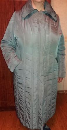 Продам добротное женское демисезонное (но довольно таки теплое) пальто (внутри п. Чернигов, Черниговская область. фото 5