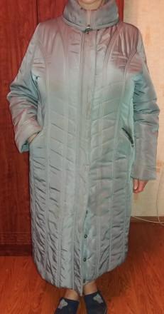 Продам добротное женское демисезонное (но довольно таки теплое) пальто (внутри п. Чернигов, Черниговская область. фото 2