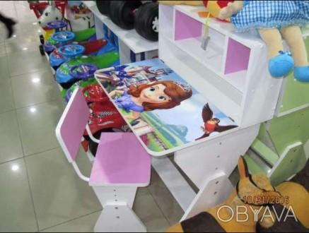 Парта детская, со стульчиком производства Украина (не Китай!)