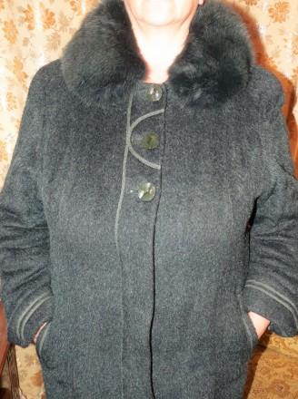 Продам пальто женское зимнее (теплое) на подкладке добротного качества (б.у. - б. Чернигов, Черниговская область. фото 4