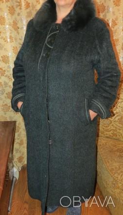 Продам пальто женское зимнее (теплое) на подкладке добротного качества (б.у. - б. Чернигов, Черниговская область. фото 1