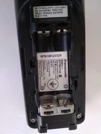 Цифровой беспроводной телефон Panasonic KX-TG7227UA Радиотелефон DECT Panasonic. Бердичев, Житомирская область. фото 9