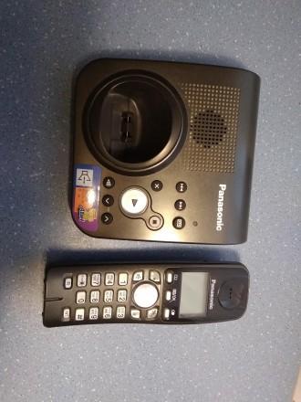 Цифровой беспроводной телефон Panasonic KX-TG7227UA Радиотелефон DECT Panasonic. Бердичев, Житомирская область. фото 3