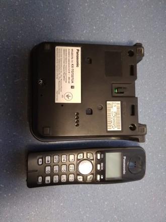 Цифровой беспроводной телефон Panasonic KX-TG7227UA Радиотелефон DECT Panasonic. Бердичев, Житомирская область. фото 4
