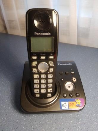 Цифровой беспроводной телефон Panasonic KX-TG7227UA Радиотелефон DECT Panasonic. Бердичев, Житомирская область. фото 2