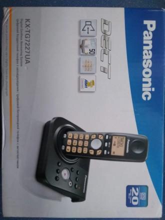 Цифровой беспроводной телефон Panasonic KX-TG7227UA Радиотелефон DECT Panasonic. Бердичев, Житомирская область. фото 5