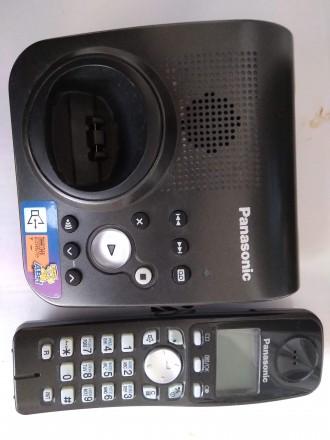 Цифровой беспроводной телефон Panasonic KX-TG7227UA Радиотелефон DECT Panasonic. Бердичев, Житомирская область. фото 6