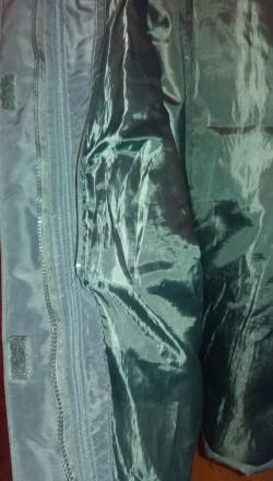 Женское пальто теплое демисезонное на подкладке б.у. черное размер 52-54 (без де. Чернигов, Черниговская область. фото 5