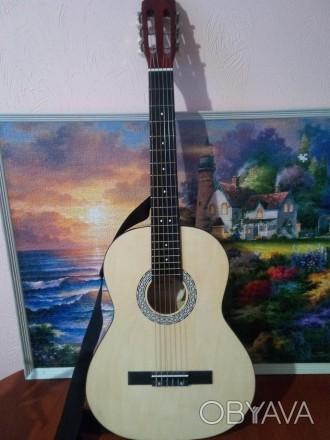Гітара електроакустична Almira налаштована + ремінь + струни + тюнер