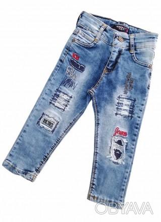 Стильные джинсы для мальчика тати джинс от 5 лет до 13 лет в наличии цена 350 гр