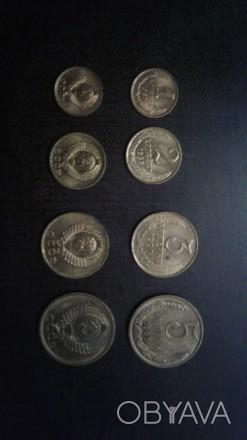 Продам комплект медных монет СССР 82. 83. 85. 87. 88. 90г.г.а также не комплект.