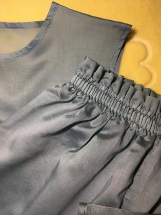 Пижама хлопковая женская (футболка + штаны на эластичной резинке)  Состав: 10. Николаев, Николаевская область. фото 6