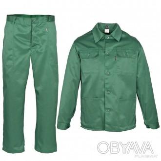 Рабочая одежда, куртка и брюки, спецодежда