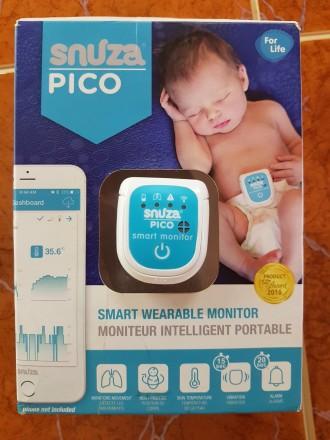 Продам переносной монитор дыхания для детей. В использовании был месяц. Куплен в. Киев, Киевская область. фото 5