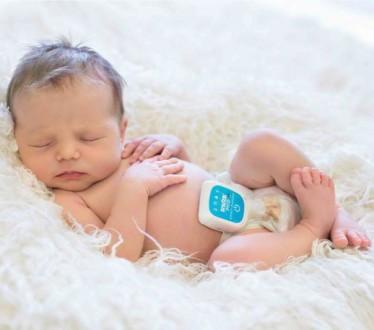 Продам переносной монитор дыхания для детей. В использовании был месяц. Куплен в. Киев, Киевская область. фото 2