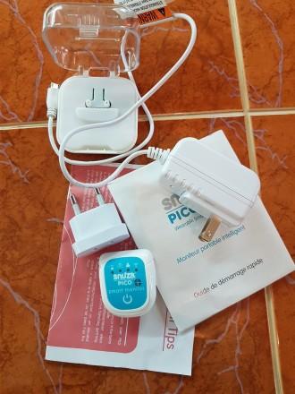 Продам переносной монитор дыхания для детей. В использовании был месяц. Куплен в. Киев, Киевская область. фото 4