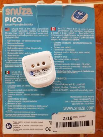 Продам переносной монитор дыхания для детей. В использовании был месяц. Куплен в. Киев, Киевская область. фото 6