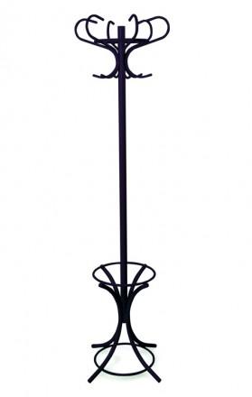 Металлическая надёжная вешалка для одежды VENEZIA black. Устойчивая 4-х лучевая. Киев, Киевская область. фото 3
