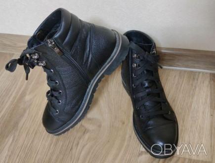 Кожаные ботинки Мida