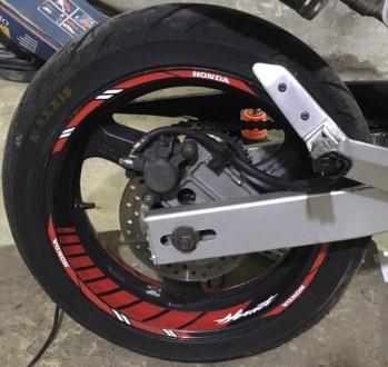 Наклейки на диски Suzuki Yamaha Honda Kawasaki Dukati Dominar Lifan Enduro Свето. Одесса, Одесская область. фото 4