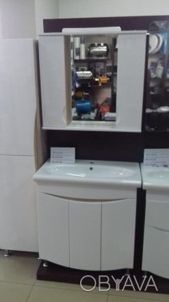 Дзеркало ванна NATYRE 80 Мішель NEW Т-1 Дуб Сонома