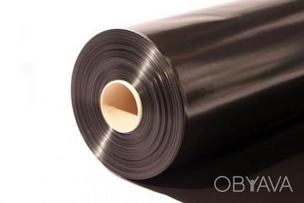 Мульчирующая плёнка чёрная, полотно 600мм*30микрон
