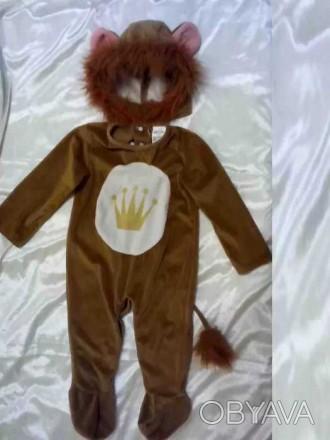Карнавальный костюм Лев мальчику 2 года Львенок