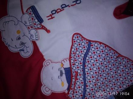 Дитячі набори чоловічок+ шапочка, червоний чоловічок,кофта знімається. Можу зро. Тернопіль, Тернопольская область. фото 5
