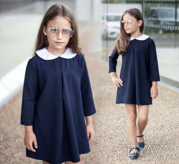 Детское платье с длинными рукавами 2066