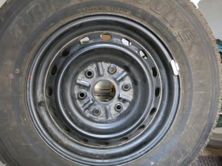 Оригинальные диски Mitsubishi L200  в идеальном состоянии почти без пробега. Но. Киев, Киевская область. фото 4