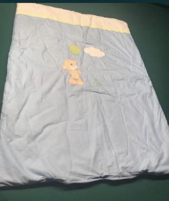 Новый комплект постельного в детскую кроватку.  Комплектация и размеры на фото №. Черкаси, Черкасская область. фото 5