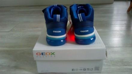 Новые, демисезонные ботиночки Geox. Очень классные! Верх- полиуретан/текстиль, п. Вышгород, Киевская область. фото 7