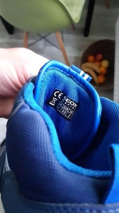 Новые, демисезонные ботиночки Geox. Очень классные! Верх- полиуретан/текстиль, п. Вышгород, Киевская область. фото 4