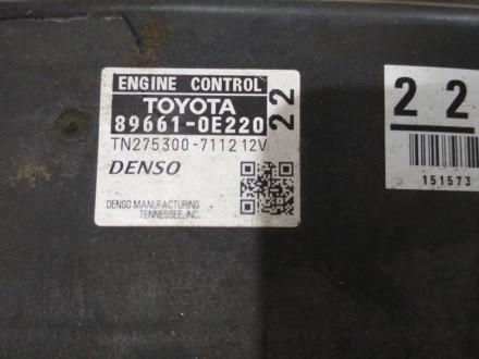 89661-0e220Блок управления двигателемLexus RX 350/450H2010-2011. Одеса, Одеська область. фото 3