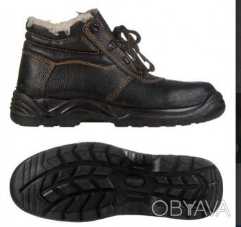 Ботинки юфтевые  на ПУП зимние