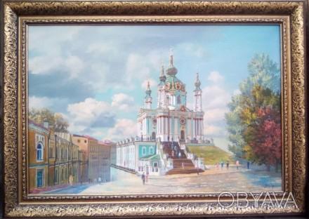 Картины виды Киева. Картины на холсте маслом.Купить картину маслом