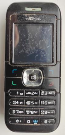 Nokia 6030 б/ушный кнопочный телефон черного цвета в хорошем состоянии. Работает. Херсон, Херсонская область. фото 2