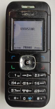 Nokia 6030 б/ушный кнопочный телефон черного цвета в хорошем состоянии. Работает. Херсон, Херсонская область. фото 7