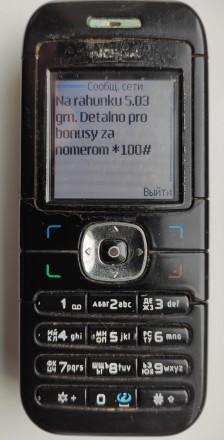 Nokia 6030 б/ушный кнопочный телефон черного цвета в хорошем состоянии. Работает. Херсон, Херсонская область. фото 10