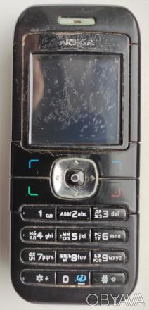 Nokia 6030 б/ушный кнопочный телефон черного цвета в хорошем состоянии. Работает. Херсон, Херсонская область. фото 1