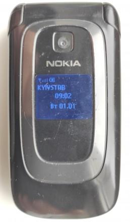 Nokia 6085 б/ушный раскладной кнопочный телефон в хорошем косметическом и рабоче. Херсон, Херсонская область. фото 2