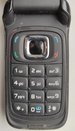Nokia 6085 б/ушный раскладной кнопочный телефон в хорошем косметическом и рабоче. Херсон, Херсонская область. фото 6