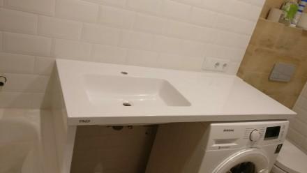 Ми виготовляємо стільниці і умивальники в ванну кімнату зі штучного каменю під з. Ровно, Ровненская область. фото 4