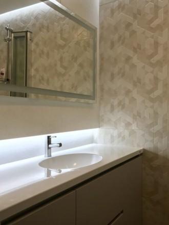 Ми виготовляємо стільниці і умивальники в ванну кімнату зі штучного каменю під з. Ровно, Ровненская область. фото 2