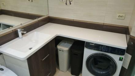 Ми виготовляємо стільниці і умивальники в ванну кімнату зі штучного каменю під з. Ровно, Ровненская область. фото 8