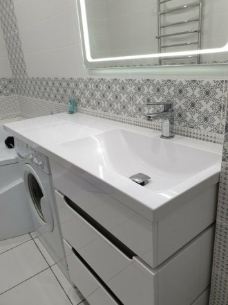 Ми виготовляємо стільниці і умивальники в ванну кімнату зі штучного каменю під з. Ровно, Ровненская область. фото 3