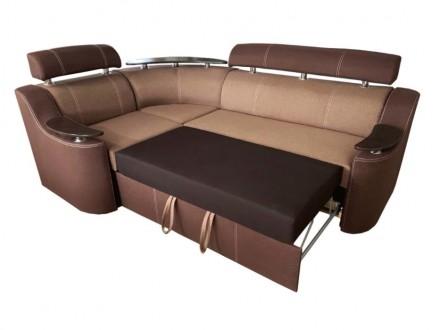 Угловой диван Невада - это диван изысканного дизайна, который способный предложи. Киев, Киевская область. фото 3